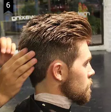 2016年最热型男发型:7个步骤吹出侧分油头发型