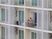 小夫妻性生活爱爱被邻居偷拍全程