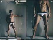 男模 / 私人健身教练 DAWEI WU 的组照高清图片(男体摄影)