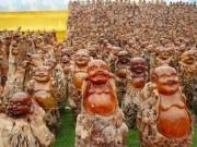 世界最大规模佛像群 竟用百年树龄枣树雕成