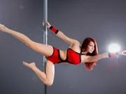 跳钢管舞可以减肥吗 谭卓教你轻松减肥塑身变性感女人