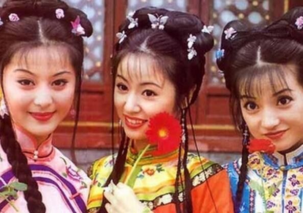 还珠格格皇后娘娘图片春光满面 将嫁女还珠三美或重聚
