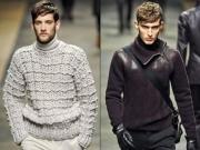 男士冬季高领毛衣正确的搭配技巧