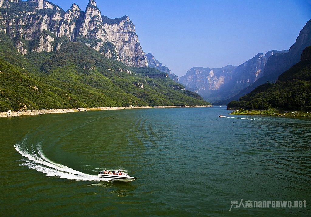 河南云台山风景区景色太美 驴友们都不忍直视了(2)