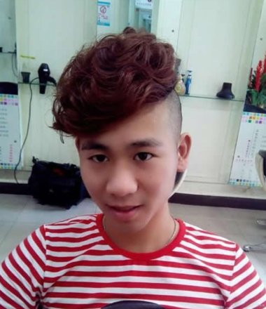 2016亚洲男士烫发短发 男生的短发有哪些