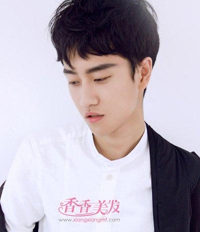 韩版男士短发发型大全 2016年最新男生短发发型