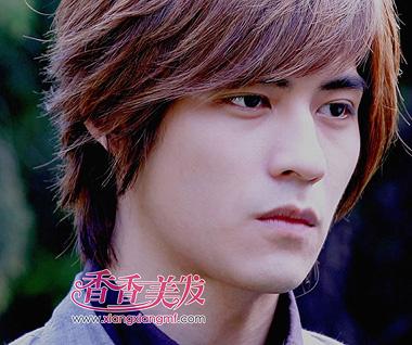 中国长发男明星 男士长发造型(2)图片