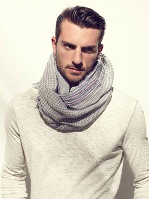 围巾该如何搭配