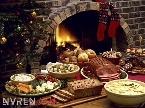 圣诞精美菜品推荐 来过一次美味的圣诞