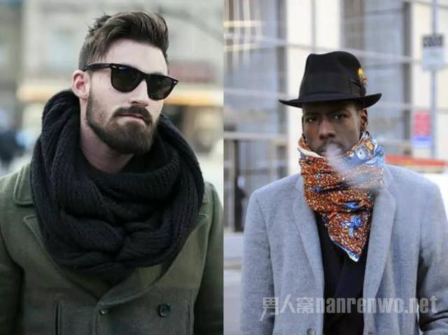 圍巾搭配高階法則 解鎖冬季男士保暖新姿勢圖片