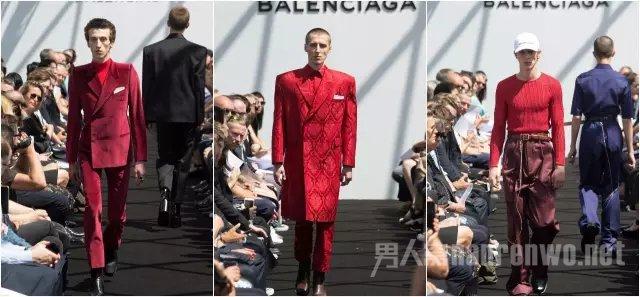 Balenciaga 2017 Spring Menswear