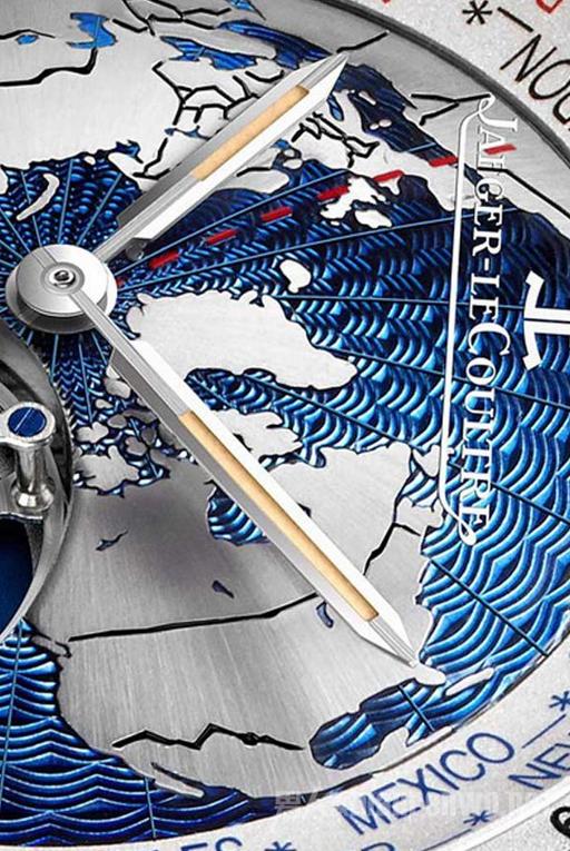 积家GEOPHYSIC世界时间飞行陀飞轮腕表