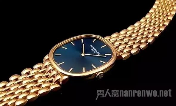 Golden Ellipse铂金款腕表