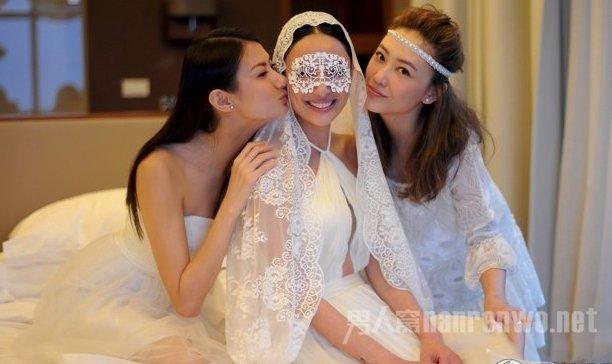 郑希怡结婚照