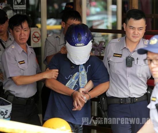 嫌疑犯被抓捕
