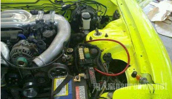 修理安装转子发动机