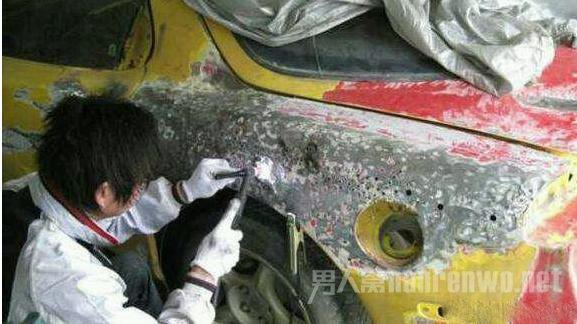 焊铁皮修补