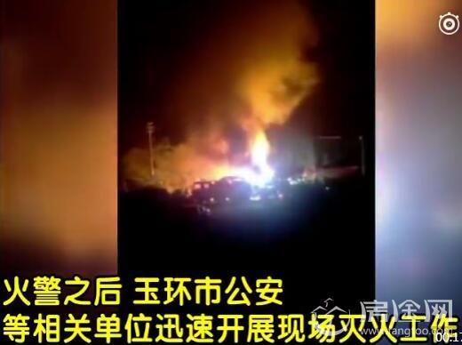 浙江玉环1栋民房发生火灾致多人伤亡 现场视频曝光画面惨烈