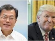 韩美领导人互通电话 再次确定韩国半岛无核化立场